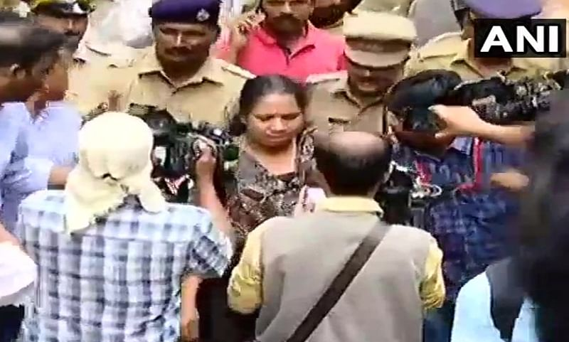 Sabarimala temple row: Woman journalist forced to call-off journey after massive protests by devotees