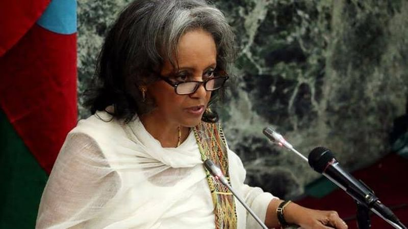 Sahle-Work Zewdeelected as Ethiopia's first female President