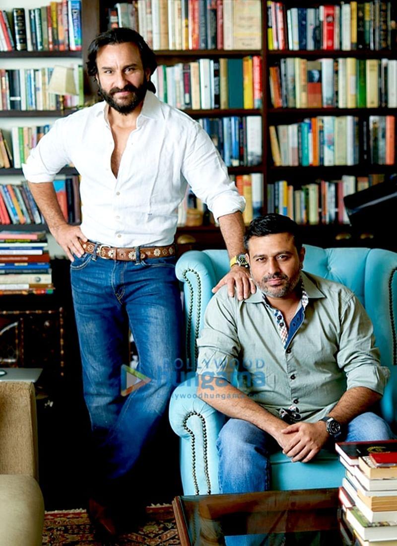 'Sacred Games' actor Saif Ali Khan launches his new banner Black Knight Films, signs director Nitin Kakkar