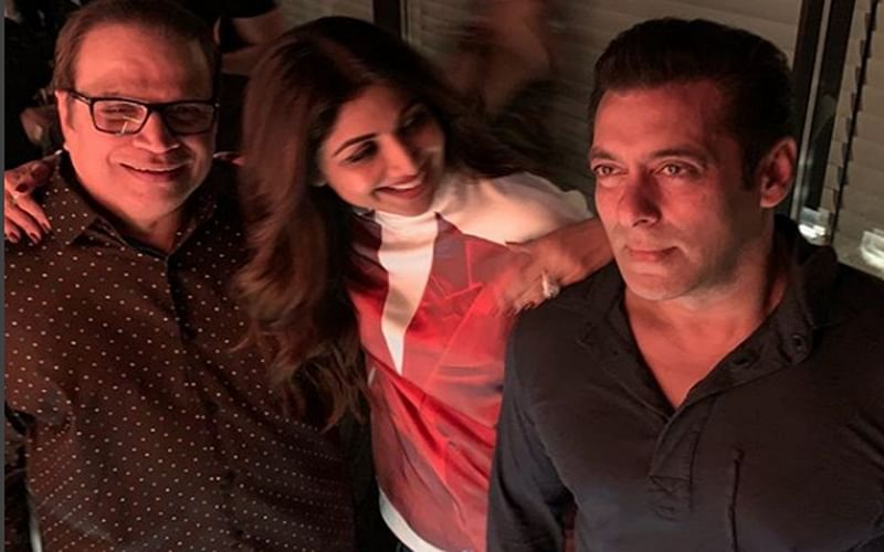 'Auzaar' Reloaded! Shilpa Shetty Kundra shares Salman Khan's pic of the night