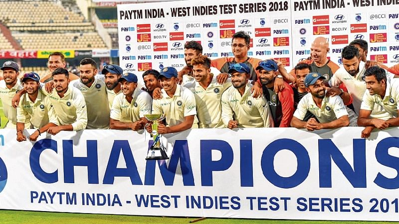 India vs West Indies 2nd Test: Ruthless India completes clean sweep