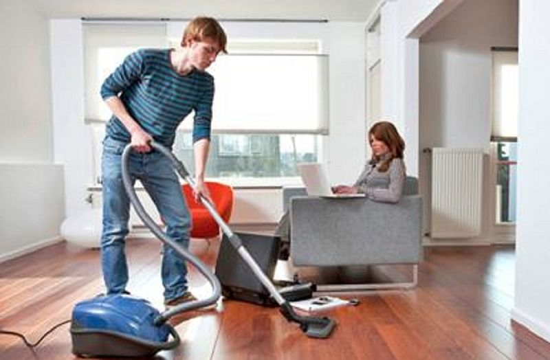 Family that 'cleans' together, stays together