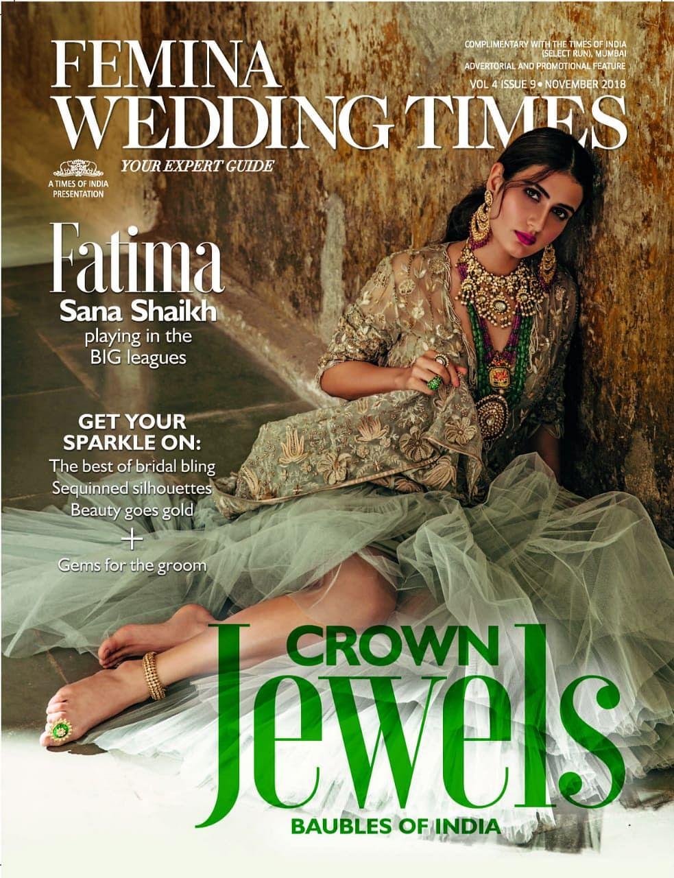 Fatima Sana Shaikh dazzles as a bride on the cover of magazine
