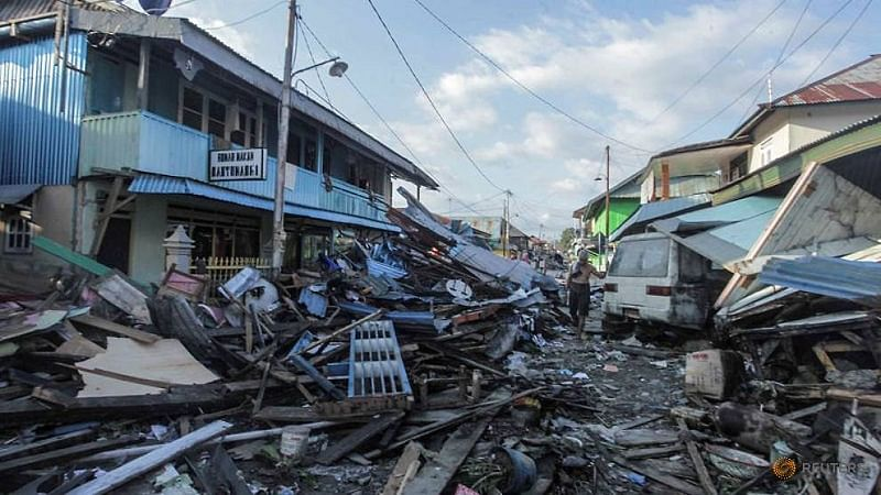 Indonesia earthquake: 34 students killed in church