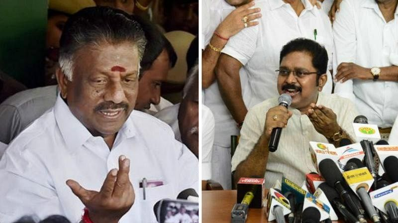 2017 secret meeting between O Panneerselvam and TTV Dinakaran rattles AIADMK