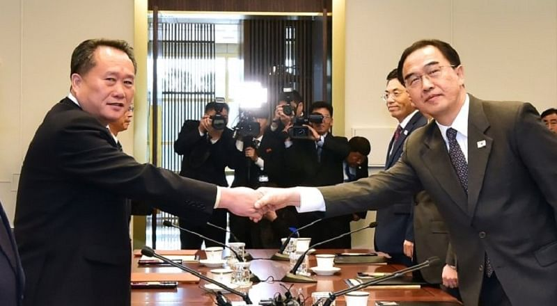 North and South Korea agree railway ceremony next month