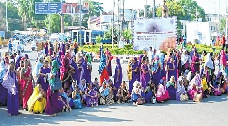Bhopal: ASHA, USHA worker stopped from gheraoing CM House