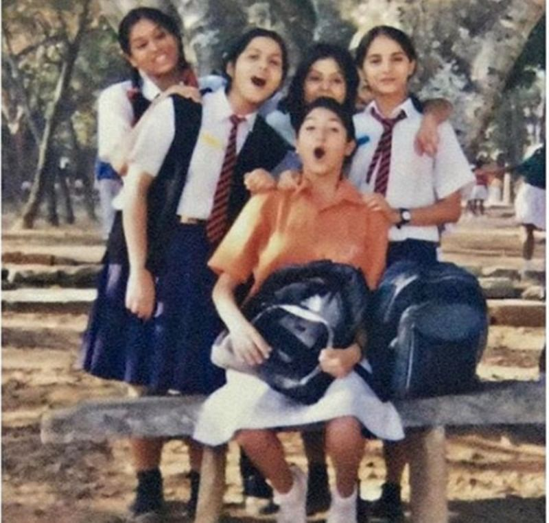 Anushka Sharma shares picture from her 'bachpan' on Flashback Friday