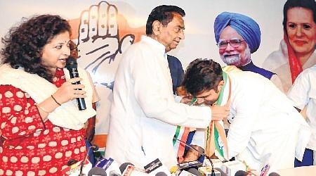 Bhopal: Kamal Nath welcomes three parachute candidates?
