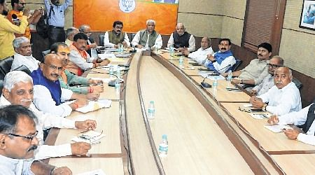 Who will speak on issues related to media: Prabhat Jha asks Ramlal