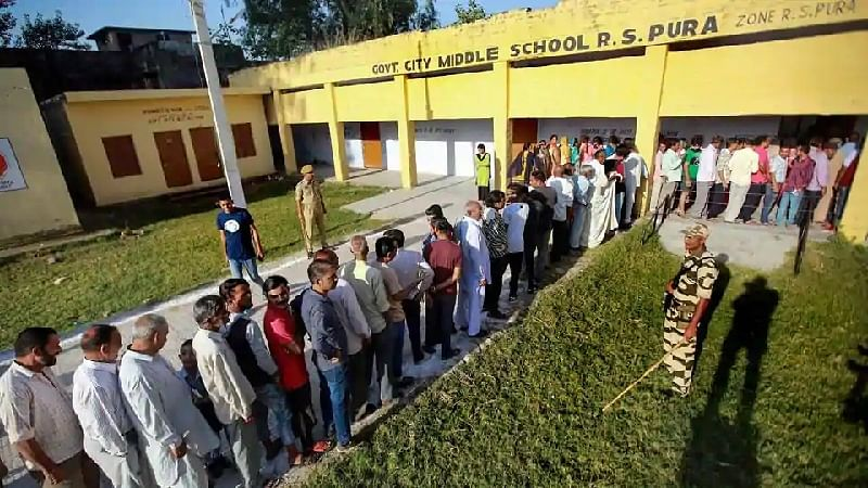 3.49% turnout in Valley, Samba records 82% voting in Jammu and Kashmir civic polls