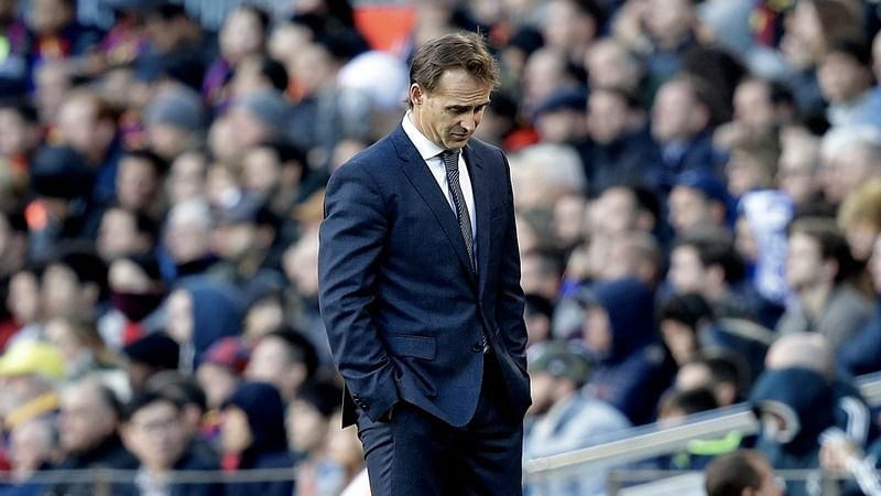 Champions League2018: Julen Lopeteguisacked as Real Madrid's manager after 1-5loss to Barcelona