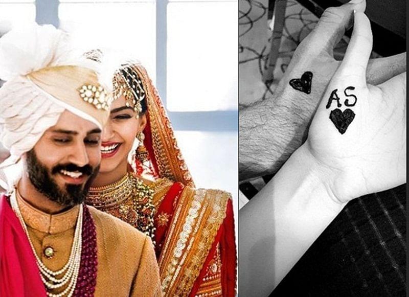 Newlyweds Sonam Kapoor-Anand Ahuja celebrate first Karwa Chauth; see pics