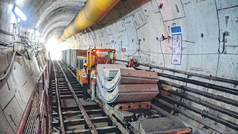 Lucknow Metro to complete North-South corridor by next month