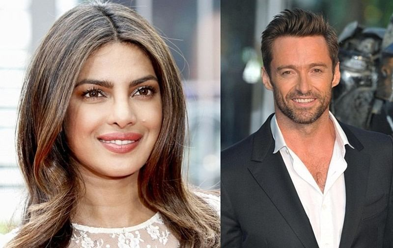 In Pics! 'Wolverine' aka Hugh Jackman smitten by Priyanka Chopra, wonder how beau Nick Jonas will react to it