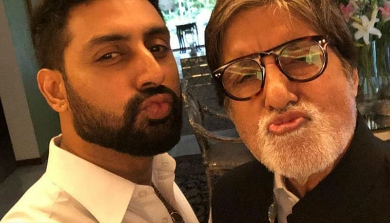 Amitabh and Abhishek's 'saucy' banter proves they are cool dudes!