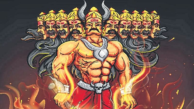 Another face of the demon king: While the country sets Ravana aflame, Jains worship him