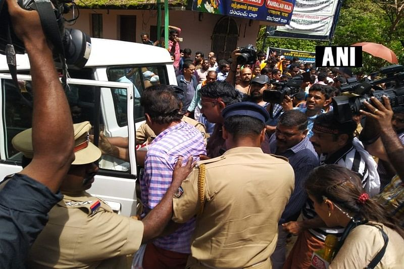 Sabarimala: UDF leaders booked for defying prohibitory orders