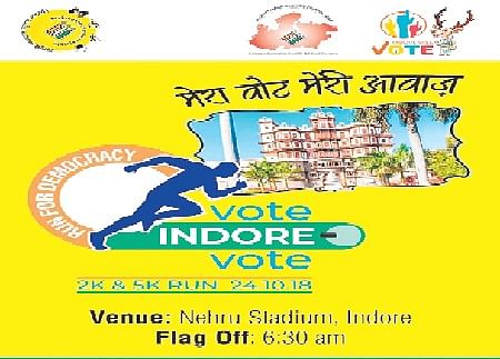 Indore: 20K to run for voting awareness