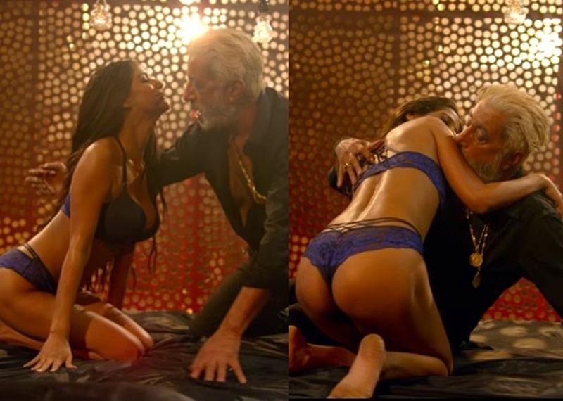 Watch Video! Poonam Pandey romancing Shakti Kapoor in the song 'Sugar Biscuit' screams cringy
