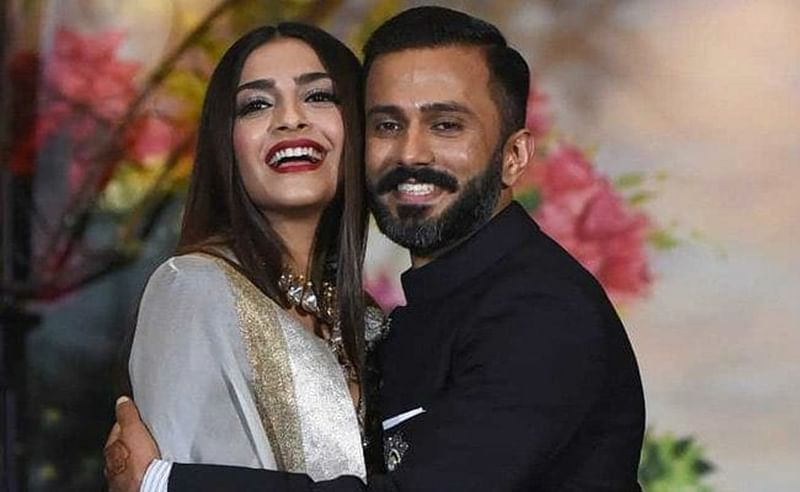 Sonam Kapoor finds solace in husband Anand Ahuja after her public spat with Kangana Ranaut