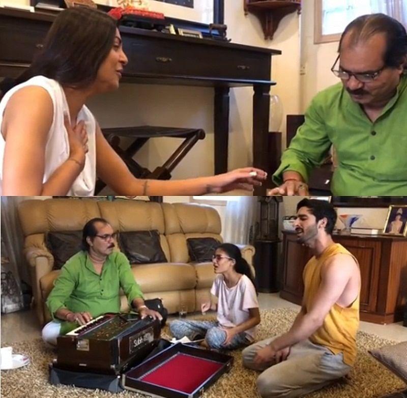 Watch video: Sushmita Sen sings 'Aaj Jaane Ki Zid Na Karo' while Renee and Rohman pair for duet  song 'Moh Moh Ke Dhaage'