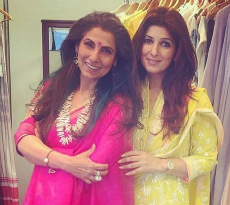 Twinkle Khanna is proud of mom Dimple Kapadia's collaboration with Christopher Nolan