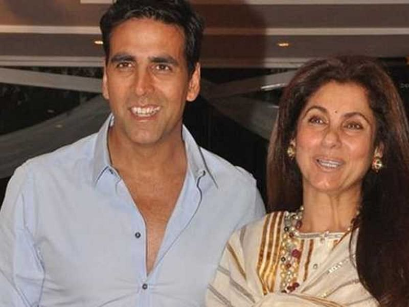 Akshay Kumar shares video of a happy Dimple Kapadia dancing to the tune of 'Bobby'