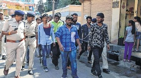 Ujjain: 19 miscreants held, arms recovered