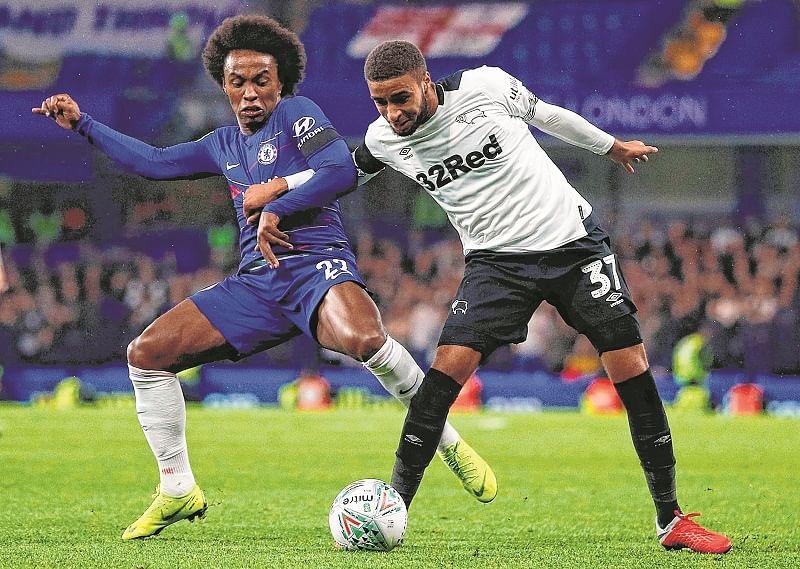 Chelsea beats Lampard's Derby