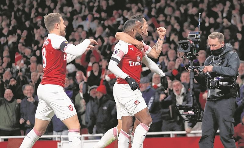 EPL: Emery's Arsenal hold Liverpool