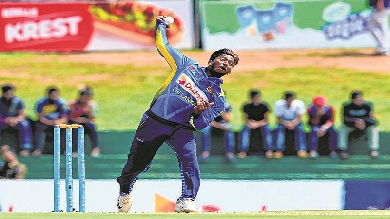 Sri Lanka's Akila Dananjaya reported for suspicious action