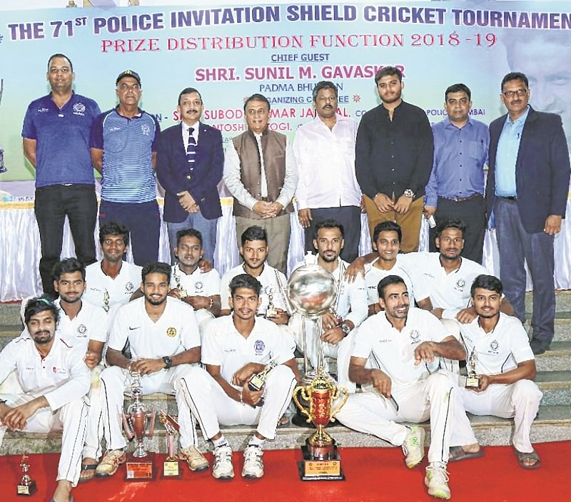 Parkhophene clinch Police Shield trophy