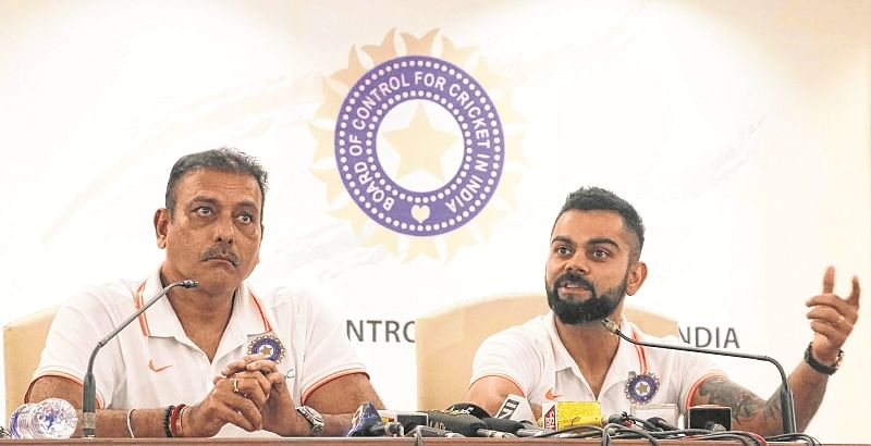 BCCI stands with coach Shastri and skipper Kohli; does not want four-day Tests