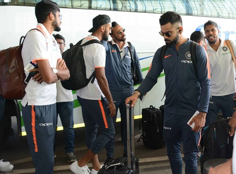 In pictures: Team India departs for gruelling Australia tour