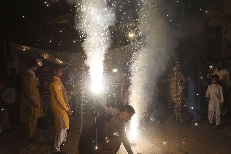 50 people injured during Diwali celebrations in Hyderabad