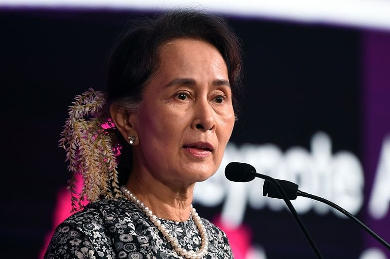 Rohingya crisis: Myanmar's State Counsellor Aung San Suu Kyi stripped of Amnesty's highest honour