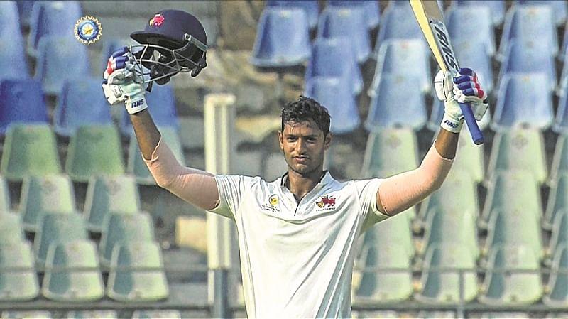 Shivam Dubey's ton helps Mumbai post 297