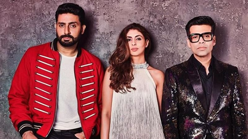 Koffee With Karan 6: Siblings duo Abhishek Bachchan, Shweta Nanda grace Karan Johar's 'Koffee' couch