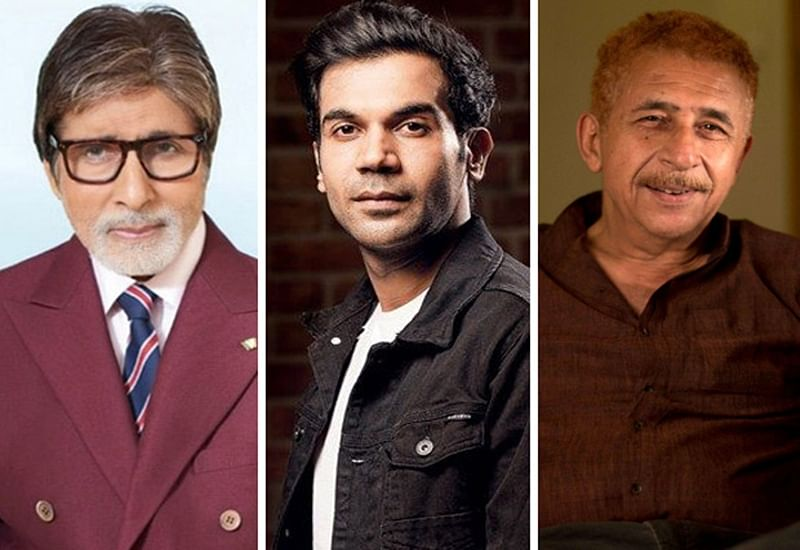 Amitabh Bachchan, Rajkummar Rao and Naseeruddin Shah to team up for a film?