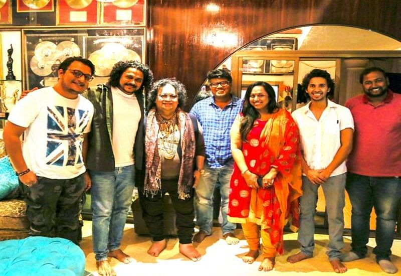 Bappi Lahiri makes debut in Marathi film as a playback singer for 'Lucky'