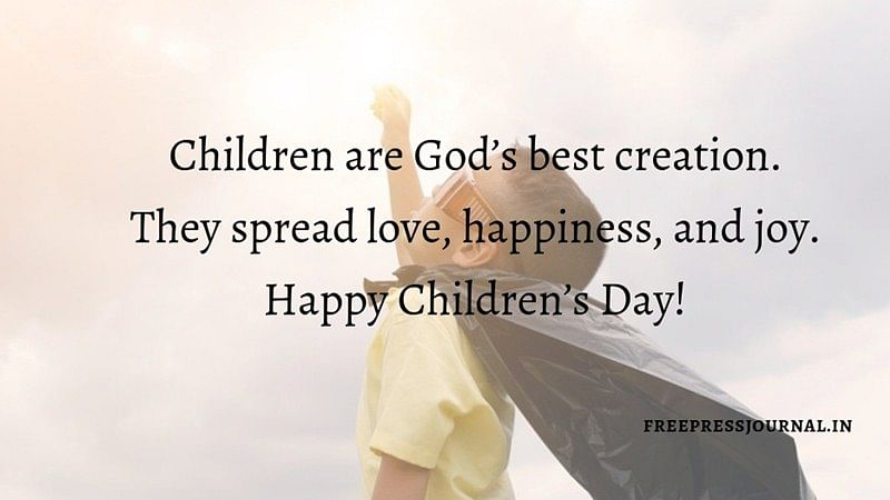 Children's Day 2018: Wishes, greetings, images to share on SMS, WhatsApp, Facebook