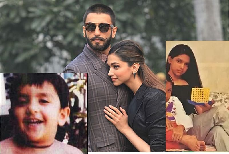 With Deepika Padukone and Ranveer Singh tying the knot on Children's Day, take a look at their pictures when they were 'Chillar Party'