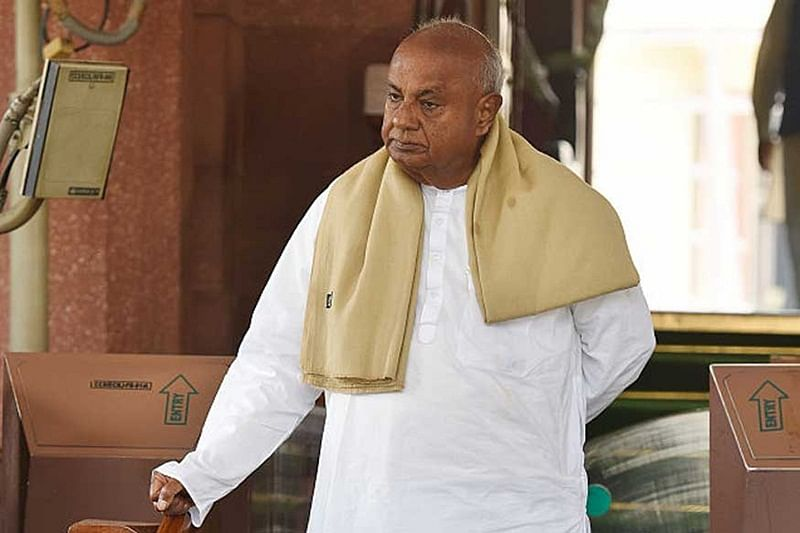 No government can survive without farmers: former PM Deve Gowda