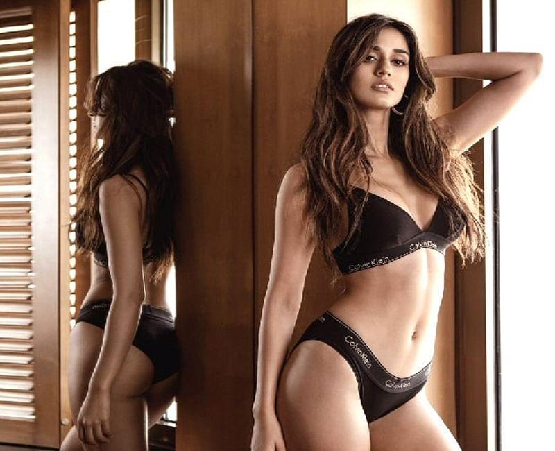 Disha Patani's ravishing body in black lingerie will make you drool