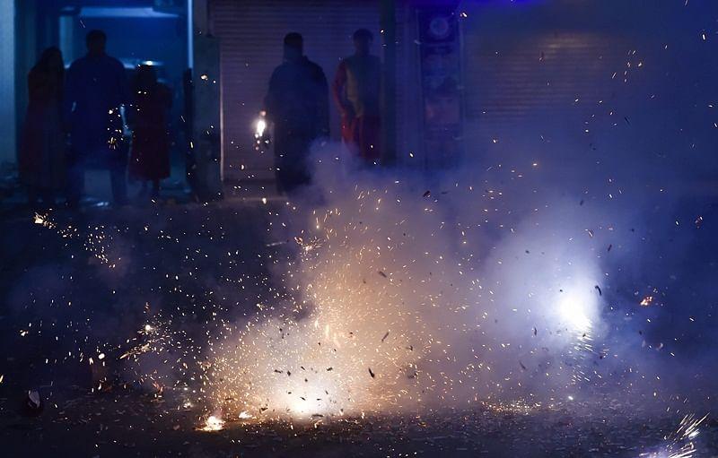 Hyderabad police register 71 cases for bursting crackers after 10 pm on Diwali