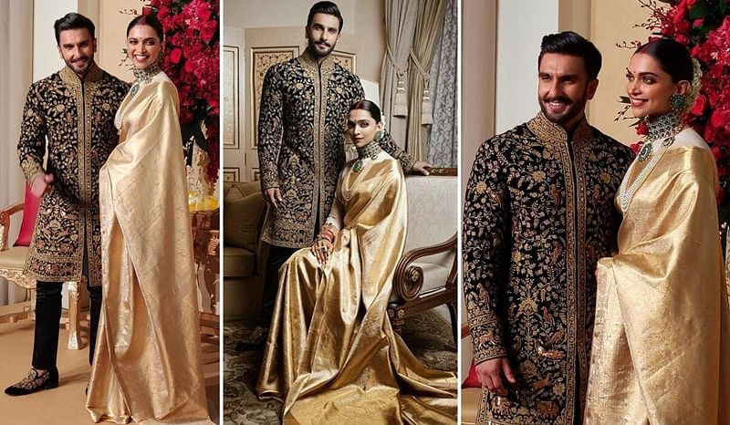Deepika and Ranveer ace the royal look at Bengaluru reception; check out pics and video