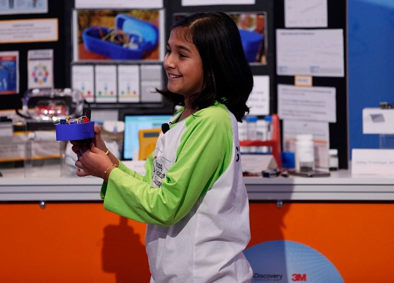 TEDxGateway 2018: Wonder Kid! 12-year-old Gitanjali Rao's portable invention detects lead contamination in water