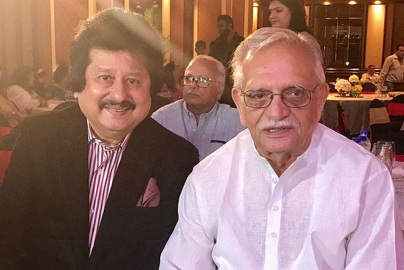 Veteran lyricist Gulzar and Ghazal maestro Pankaj Udhas join hands to offer timeless melodies