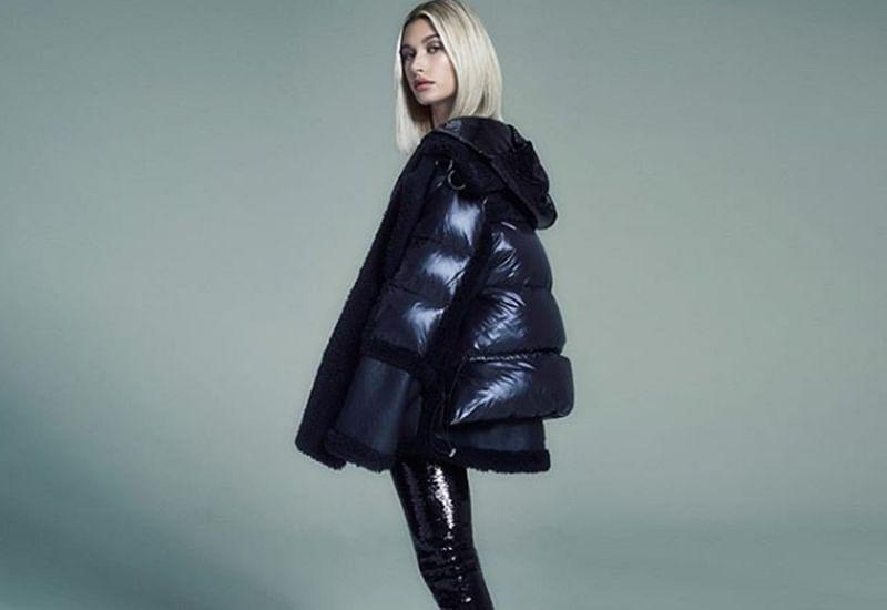 Hailey Baldwin flaunts 'Bieber' jacket in NYC